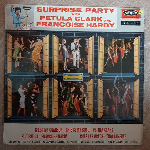 Surprise Party With Petula Clark And Francoise Hardy -  Vinyl LP Record - Opened  - Very-Good Quality (VG)