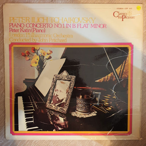 Tchaikovsky - Piano Concerto No.1 - Peter Katin, London Philharmonic Orchestra, John Pritchard  - Vinyl LP Record - Opened  - Very-Good+ Quality (VG+) - C-Plan Audio
