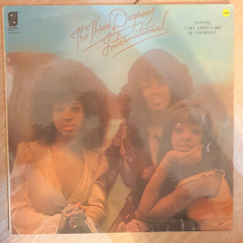 The Three Degrees - International - Vinyl LP - Opened  - Very-Good+ Quality (VG+) - C-Plan Audio