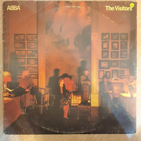 Abba - The Visitors  - Vinyl LP - Opened  - Very-Good+ Quality (VG+)
