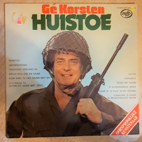 Ge Korsten - Huistoe - Vinyl LP Record - Opened  - Very-Good+ Quality (VG+)