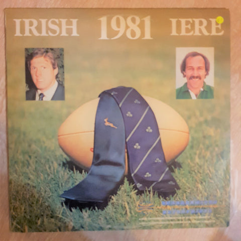 Irish 1981 - Sprinboks South Africa Rugby Documetuary- Vinyl LP Record - Opened  - Very-Good+ Quality (VG+)