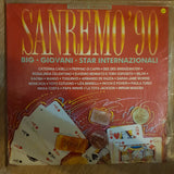 San Remo '90 - Original Artists - Vinyl LP Record - Opened  - Very-Good+ Quality (VG+) - C-Plan Audio