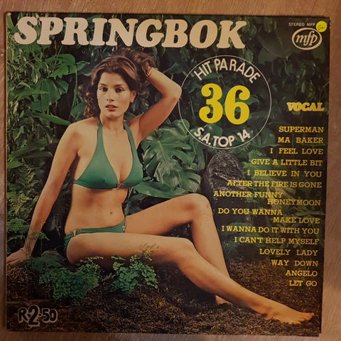 Sprinbok Hit Parade 36 - Vinyl LP Record - Opened  - Good+ Quality (G+) - C-Plan Audio