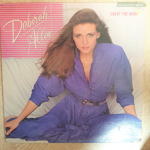 Deborah Allen ‎– Cheat The Night ‎– Vinyl Record - Opened  - Very-Good+ Quality (VG+)