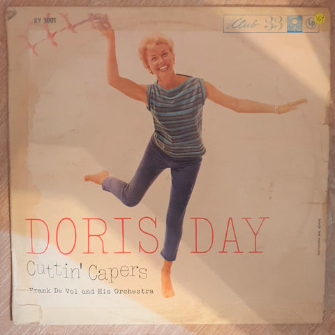 Doris Day - Cuttin' Capers - Vinyl LP Record - Opened  - Very-Good+ Quality (VG+) - C-Plan Audio
