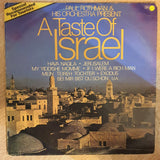 Paul Rothman And His Orchestra ‎– A Taste Of Israel - Vinyl LP Record - Opened  - Very-Good+ Quality (VG+) - C-Plan Audio