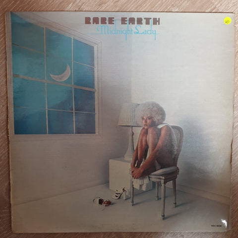 Rare Earth ‎– Midnight Lady - Vinyl LP Record  - Very-Good Quality (VG) - C-Plan Audio
