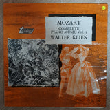 Mozart Complete Piano Music Vol 3 - Walter Klein - Vinyl LP Record - Opened  - Very-Good+ Quality (VG+) - C-Plan Audio
