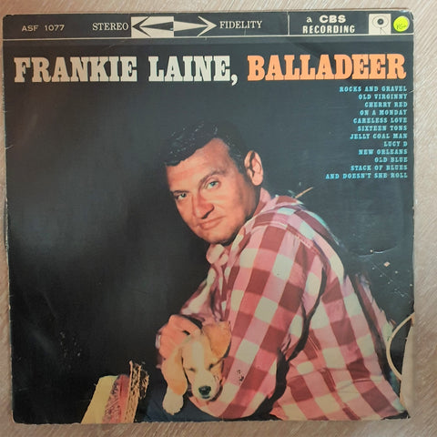 Frankie Laine ‎– Balladeer - Vinyl LP Record - Opened  - Very-Good+ Quality (VG+)