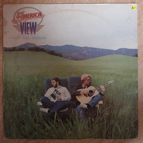 America - View From The Ground - Vinyl LP - Opened  - Very-Good+ Quality (VG+) - C-Plan Audio