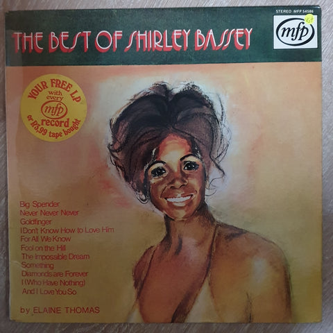 The Best Of Shirley Bassey - MFP - Vinyl LP Record - Opened  - Very-Good+ Quality (VG+)