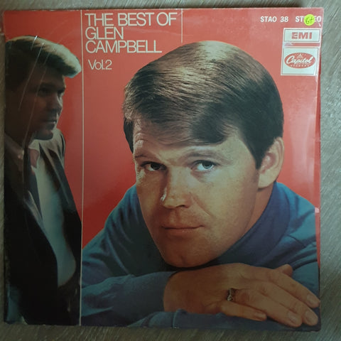 Glen Campbell - The Best Of - Vol 2  - Vinyl LP Record - Opened  - Good+ Quality (G+) - C-Plan Audio