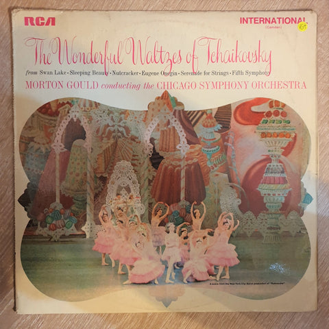 The Wonderful Waltzes Of Tchaikovsky Morton Gould Conducting The Chicago Symphony Orchestra ‎–  Vinyl LP Record - Opened  - Very-Good+ Quality (VG+) - C-Plan Audio