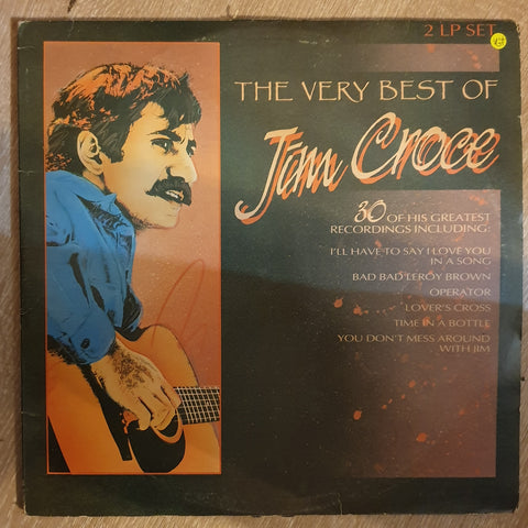 Jim Croce - The Very Best Of Jim Croce - Double Vinyl LP Record - Opened  - Very-Good+ Quality (VG+)
