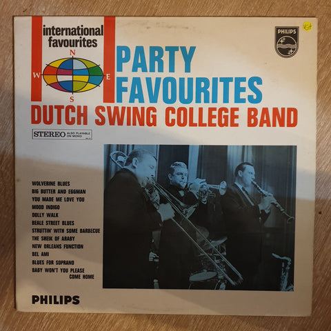 Dutch Swing College Band ‎– Party Favourites -  Vinyl LP Record - Opened  - Very-Good+ Quality (VG+)