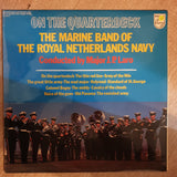 Marine Band of Royal Netherlands Navy - On The Quarterdeck -  Vinyl LP Record - Opened  - Very-Good+ Quality (VG+) - C-Plan Audio