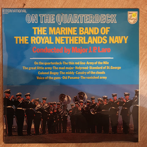 Marine Band of Royal Netherlands Navy- On The Quarterdeck -  Vinyl LP Record - Opened  - Very-Good+ Quality (VG+)