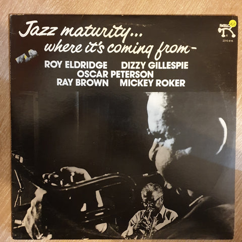 Dizzy Gillespie & Roy Eldridge ‎– Jazz Maturity... Where It's Coming From -  Vinyl LP Record - Opened  - Very-Good+ Quality (VG+)