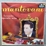 Mantovani And His Orchestra ‎– Favourite Operatic Arias  - Opened ‎–   Vinyl LP Record - Opened  - Very-Good+ Quality (VG+) - C-Plan Audio
