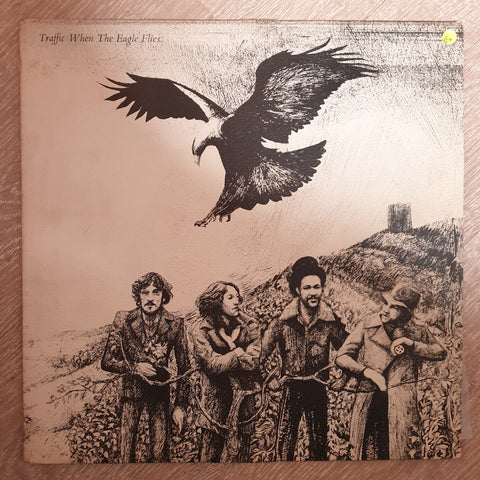 Traffic ‎– When The Eagle Flies ‎– Vinyl LP Record - Opened  - Good+ Quality (G+)