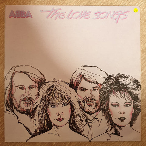 Abba - The Love Songs - Vinyl LP Record - Opened  - Very-Good Quality (VG)