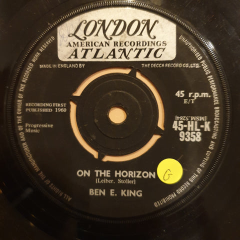 "Ben E. King ‎– Stand By Me / On The Horizon - Vinyl 7"" Record - Opened  - Good Quality (G)"