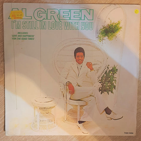 Al Green ‎– I'm Still In Love With You  - Vinyl LP Record - Opened  - Very-Good- Quality (VG-) - C-Plan Audio