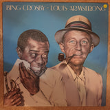 Bing Crosby & Louis Armstrong ‎– Bing Crosby & Louis Armstrong - Vinyl LP Record - Opened  - Very-Good- Quality (VG-) - C-Plan Audio