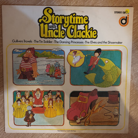 Clark McKay - Storytime with Uncle Clackie - Vinyl LP - Opened  - Very-Good Quality (VG)