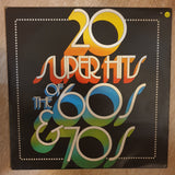 20 Super Hits of The 60's & 70's ‎– Vinyl LP Record - Opened  - Very-Good+ Quality (VG+) - C-Plan Audio