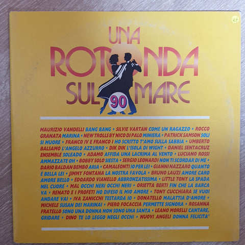 Una Rotonda Sul Mare 90 -  Vinyl LP Record - Opened  - Very-Good+ Quality (VG+) - C-Plan Audio