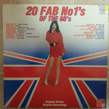 20 Fab No 1's of the 60's -  Original Artists - Vinyl LP Record - Opened  - Very-Good+ Quality (VG+) - C-Plan Audio