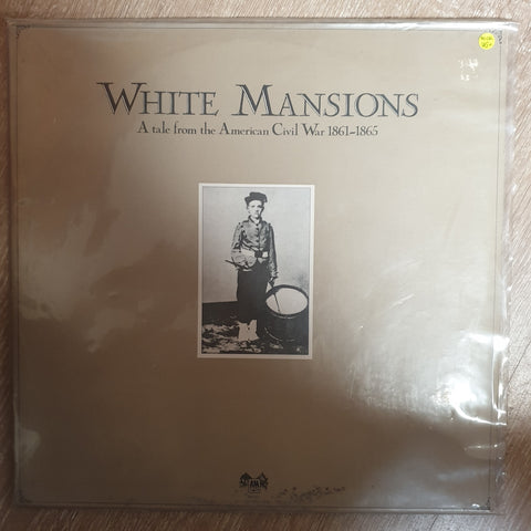 White Mansions - A Tale From The American Civil War 1861-1865 (with Booklet)  - Vinyl LP Record - Opened  - Very-Good+ Quality (VG+) - C-Plan Audio