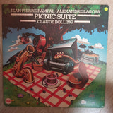Jean-Pierre Rampal / Alexandre Lagoya / Claude Bolling ‎– Picnic Suite - Vinyl LP - Opened  - Very-Good+ Quality (VG+) - C-Plan Audio
