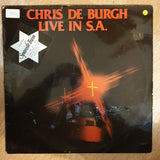 Chris de Burgh ‎– Live In South Africa - Vinyl LP Record - Opened  - Good Quality (G)