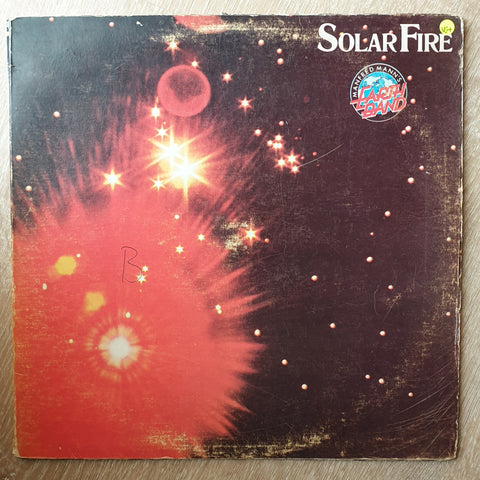 Manfred Mann's Earth Band ‎– Solar Fire - Vinyl LP Record - Opened  - Very-Good+ Quality (VG+) - C-Plan Audio