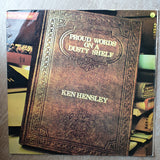 Ken Hensley ‎– Proud Words On A Dusty Shelf - Vinyl LP Record - Opened  - Very-Good Quality (VG)