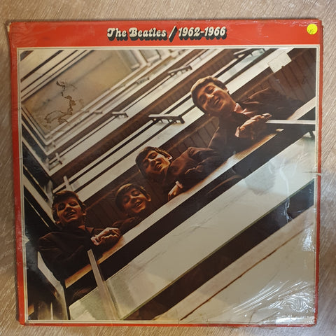 The Beatles - 1962-1966 - Double Vinyl LP Record - Opened  - Very-Good Quality (VG) - C-Plan Audio