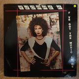 Yvonne K ‎– I've Got The Music In Me  - Vinyl LP Record - Opened  - Very-Good- Quality (VG-) (Vinyl Specials) - C-Plan Audio