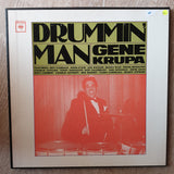 Gene Krupa ‎– Drummin' Man Box Set - Double Vinyl LP Record - Very-Good+ Quality (VG+)
