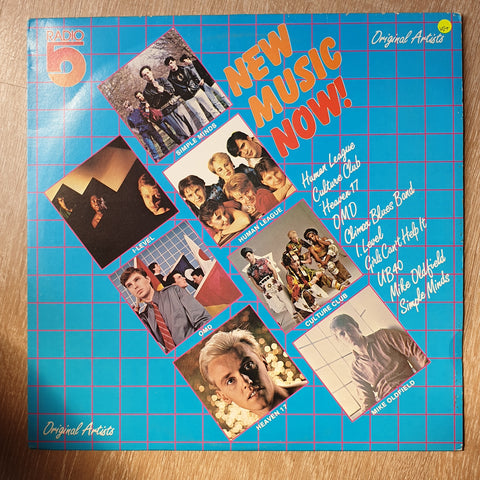 Radio 5  - New Music Now - Original Artists - Vinyl LP Record - Opened  - Very-Good+ Quality (VG+) - C-Plan Audio