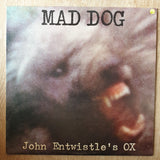 John Entwistle's Ox ‎– Mad Dog (UK) ‎– Vinyl LP Record - Very-Good+ Quality (VG+)