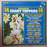14 Original Chart Toppers ‎– Original Artists - Vinyl LP Record - Very-Good+ Quality (VG+) - C-Plan Audio