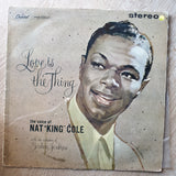 Nat King Cole - Love Is The Thing - Vinyl LP Record - Very-Good Quality (VG) - C-Plan Audio