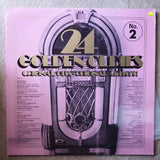 24 Golden Oldies - Original Artists - Vol 2 -  Double Vinyl LP Record - Very-Good+ Quality (VG+) - C-Plan Audio