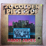 Harry James And His Orchestra ‎– 20 Golden Pieces Of Harry James - Vinyl LP Record - Very-Good+ Quality (VG+)