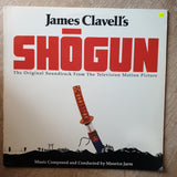 Shogun - Maurice Jarre ‎– James Clavell's  - Vinyl LP Record - Very-Good+ Quality (VG+)