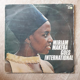 Miriam Makeba ‎– Goes International - Vinyl LP Record - Opened  - Good+ Quality (G+) - C-Plan Audio