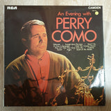Perry Como ‎– An Evening With Perry Como ‎– Vinyl LP Record - Opened  - Very-Good Quality (VG) - C-Plan Audio